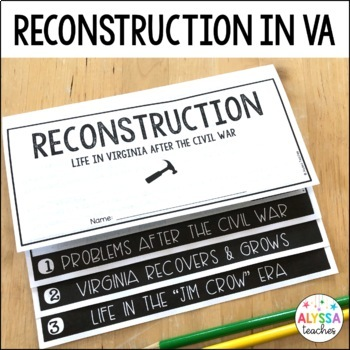 Reconstruction in Virginia Flip Book (VS.8)