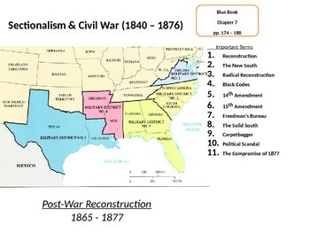 Reconstruction in the South: The Effects of the American Civil War