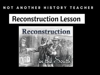Reconstruction Lesson