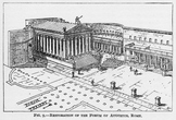 Reconstruction of the Forum of Augustus