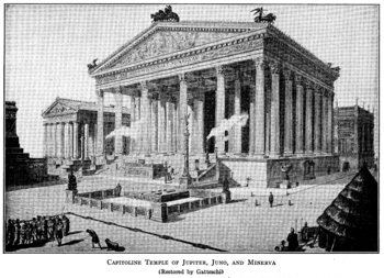 Reconstruction of the Temple of Jupiter Optimus Maximus, Rome