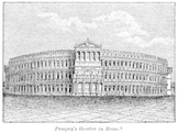 Reconstruction of the Theater of Pompey