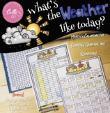 Record, Graph, and Report the Weather! (Editable Questions Included!)