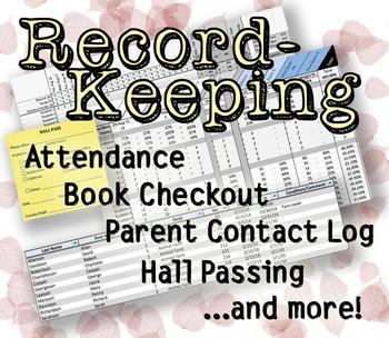 Record-Keeping Bundle