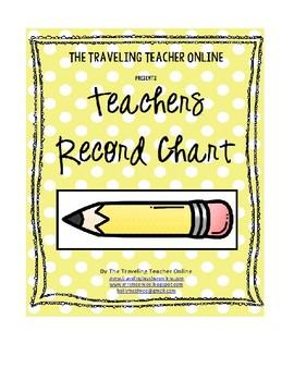 Record Keeping Chart
