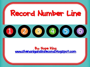 Record Number Line