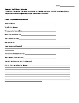 Record Proposal Form
