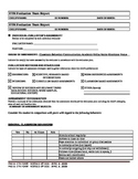 Record Review Form for Teachers