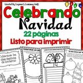 Celebrando La Navidad - Christmas Memory Book in Spanish
