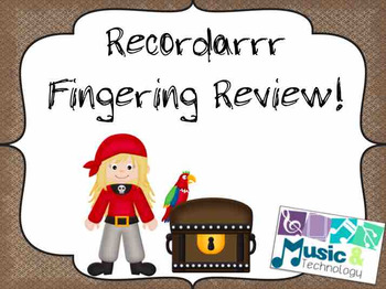 Recordarrr Review- Pirate Theme