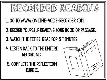 Recorded Readings (Fluency Activity)