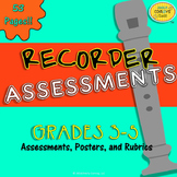 Recorder Assessments (40 Recorder Music Assessments)