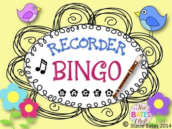 Recorder BINGO Bundle