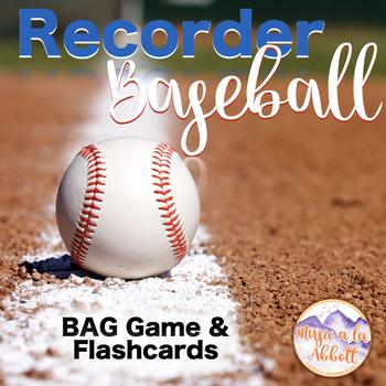 Recorder Baseball {BAG}