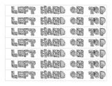 Recorder Bracelets: Left Hand On Top