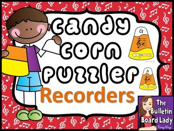 Recorder Candy Corn Puzzles