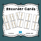 Recorder Cards