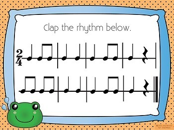 Frog in the Meadow Recorder Music