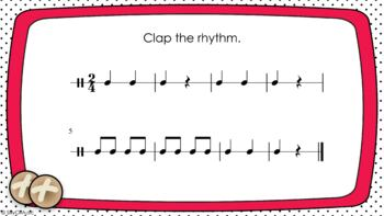 FREE! Hot Cross Buns Recorder PPT Lesson