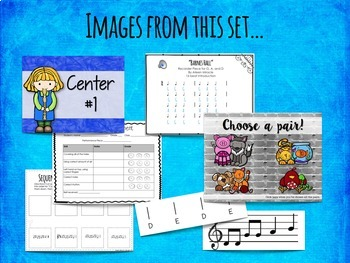 Recorder Centers Set {BAGED}