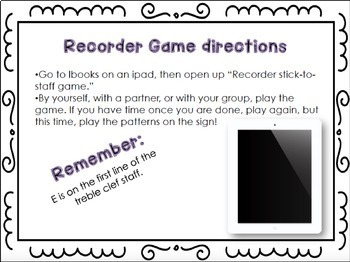 Recorder Centers Set {GE}