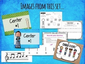 Recorder Centers Set {Bundled Set}