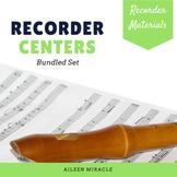 Recorder Centers Set {Bundled Set}