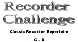 The Recorder Challenge