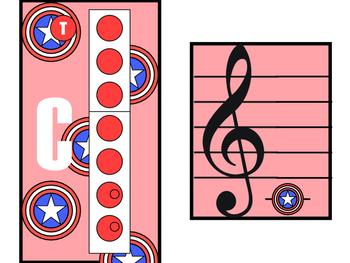 "Recorder Charts - ""Avengers"" Assemble"