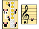 """Recorder Charts - """"Mickey & Minnie Mouse"""""""