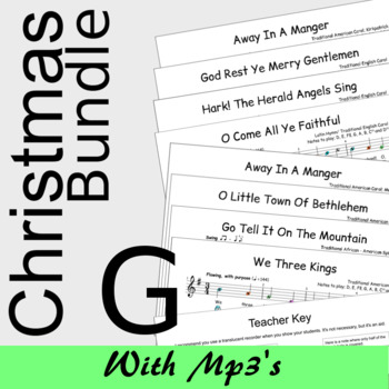 Christmas Recorder Sheet Music - MEGA Bundle - Save 20%