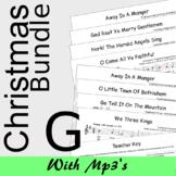 Christmas Recorder Sheet Music - MEGA Bundle - Save 20% G