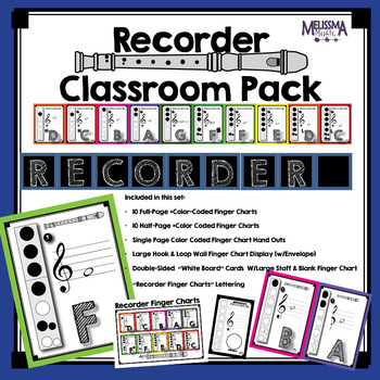 Recorder Classroom Pack