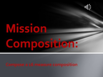 """Recorder Composing- """"Mission Composition"""""""