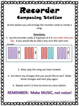 Recorder Composing Station
