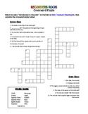 Recorder Crossword Puzzle with Recorder Intro Video