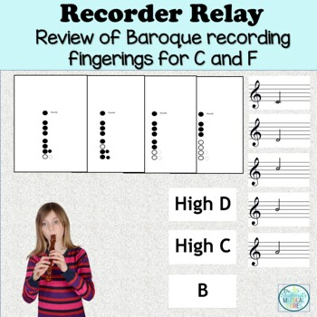 Recorder Fingering Chart Relay