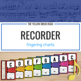 Recorder Fingering Charts