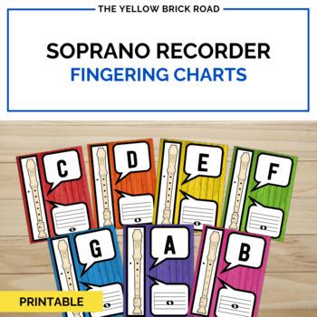 Recorder Fingering Charts