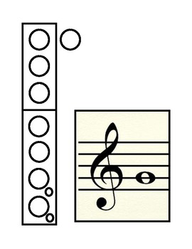 Recorder Fingering Charts - With and Without Answers