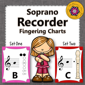 Recorder Fingering Charts for Soprano Recorder (boomwhacke