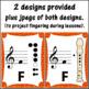Recorder Fingering Charts for Soprano Recorder (orange)