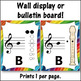 Recorder Fingering Charts for Soprano Recorder Music Room Décor (rainbow)