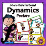 Dynamics Posters {Music Room Décor and Bulletin Board Set}