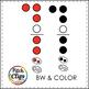 Recorder Fingering Clipart (clip art) - Fingering holes only