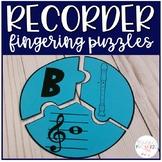 Recorder Fingering Puzzles
