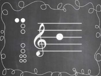 Recorder Fingering Set {Chalkboard-Themed}