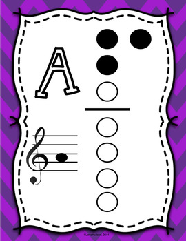 Recorder Fingerings- Color-Coordinating with Instruments