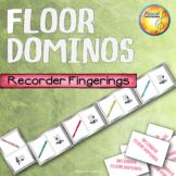 Recorder Fingerings Floor Dominos