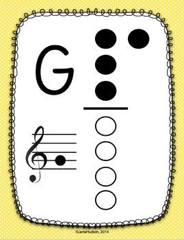 Recorder Fingering Charts ~ Polka Dot Edition by Jena Hudson at Sew ...